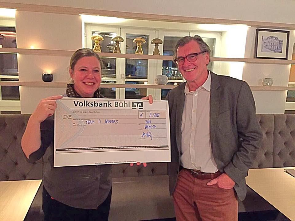 Badischer Hof Bühl Team4winners Rotary