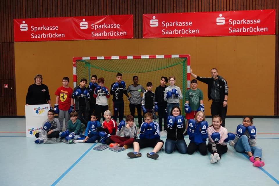 Start in der Gemeinschaftsschule in der Bruchwiese Saarbrücken